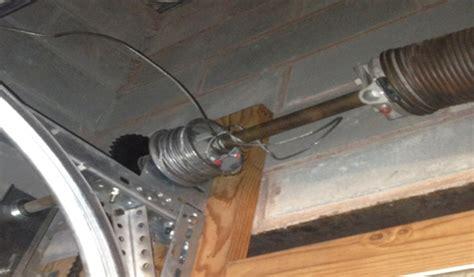 garage door cable snapped garage door cable