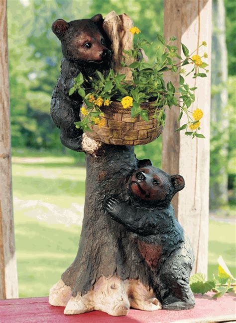 Bear & Cubs Planter/Basket