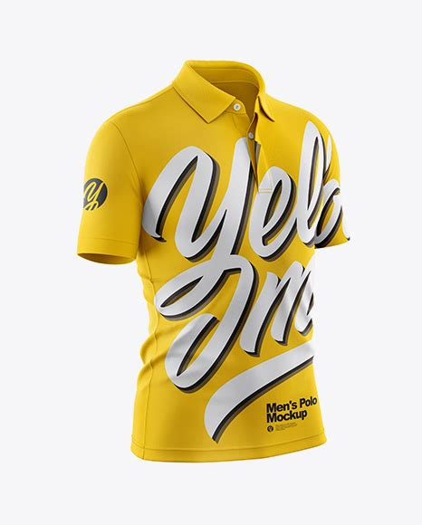 Smart objects help you to apply your design which w развернуть. Men's Polo Mockup - Front View - Men's Polo Mockup - Men's ...