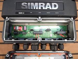 Simrad Bsm-2 Broadband Sounder W   Network Cable - 000-10138-001 - Great Cond