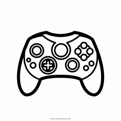 Controller Coloring Xbox Pages Printable Getcolorings Getdrawings