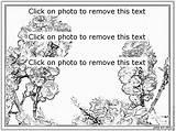 Coloring Shrub Designlooter sketch template