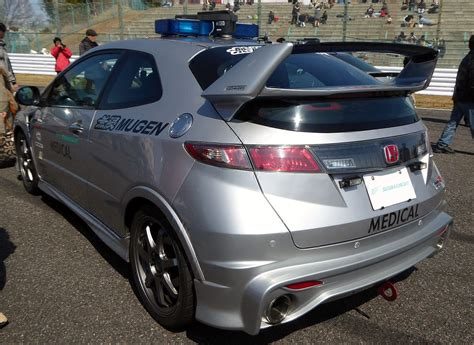 The Rearview Of Mugen Civic Type R Euro (fn2) Used As
