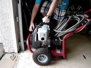 Honda Gc-160 Generac Pressure Washer Start Up