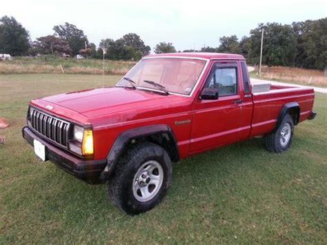 jeep comanche 4x4 purchase used 1990 jeep comanche 4x4 4 o automatic cold a