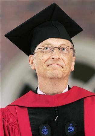 dropout bill gates returns  harvard  degree reuters