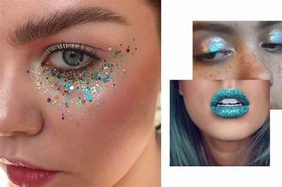 Makeup Halloween Mermaid Glitter Easy Last Minute