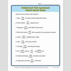 Verbs! Verbs! Verbs!  Subject Verb Agreement Worksheets