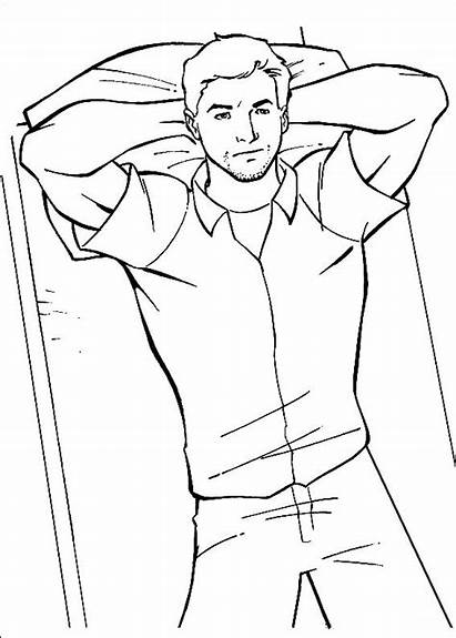 Coloring Ant Pages Printable Scott Lying Bed