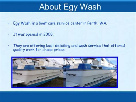 Boat Wash Perth by Boat Cleaning Perth