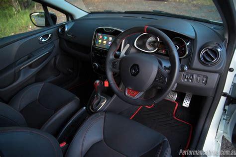 clio renault interior renault clio r s 220 trophy review video performancedrive