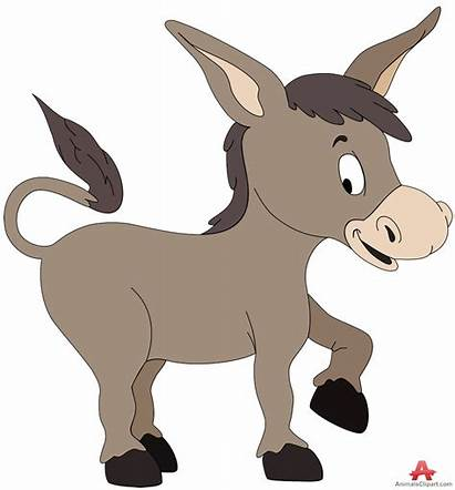 Donkey Clipart Clip Mule Animals Donkeys Illustrations