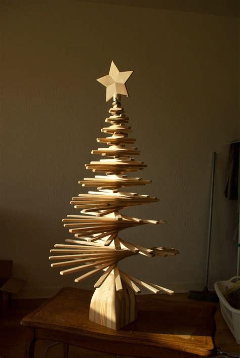carnet d id 233 es sapin de no 235 l en bois wooden christmas tree