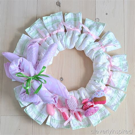 diy wreath diy baby shower decoration