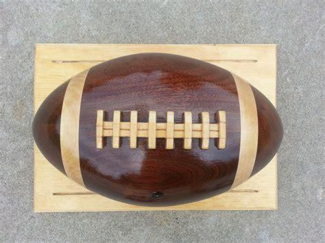 wooden football  matt  lumberjockscom
