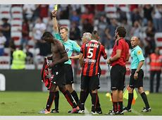 Mario Balotelli will have his red card against Lorient
