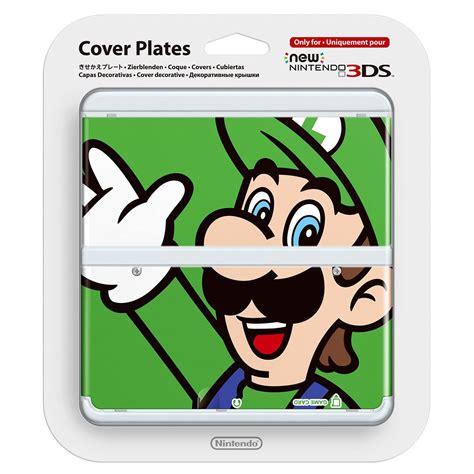 new 3ds cover plates new nintendo 3ds cover plates no 002 luigi the gamesmen