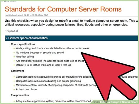 design  server room  steps  pictures wikihow