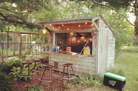 forget man caves backyard bar sheds    trend