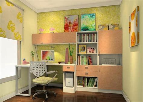 Kids Bookcase Ideas, Green Study Room Ideas Study Room