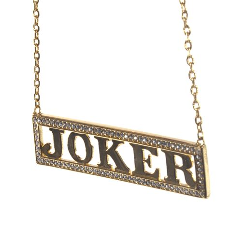joker kette gold harley quinn joker squad halskette noble kollektion authentisch ebay