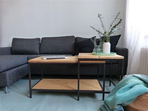 Ikea Couchtisch Hack by Ikea Hack Satztische Im Altholz Look Wohnung