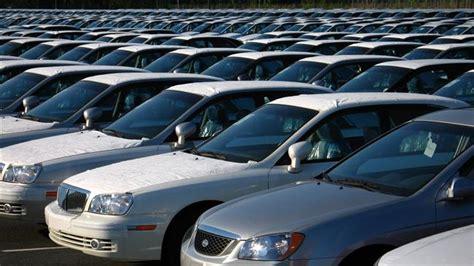 Presstviran Car Imports In Steep Decline