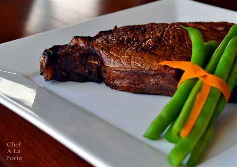 steak and grape grape marinated steak 171 chef a la porte
