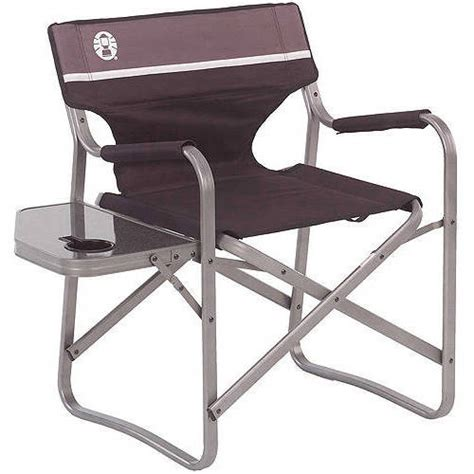 Coleman Deck Chair With Folding Table Walmart Com