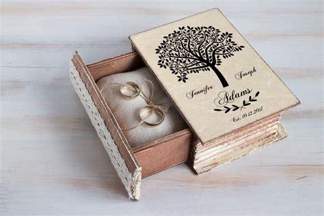 wedding ring box wedding tree box personalized ring box