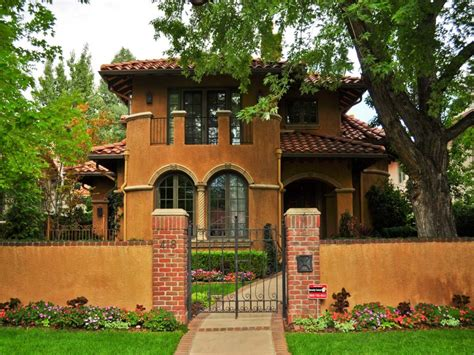small spanish style homes metal roof spanish style ranch homes mediterranean stucco homes