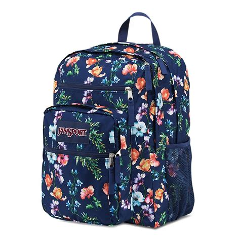 jansport big student backpack multi navy mountain meadow ideal baby