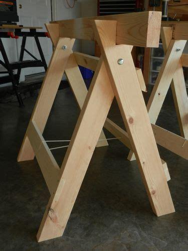 plans  build  foldable sawhorse plans  plans