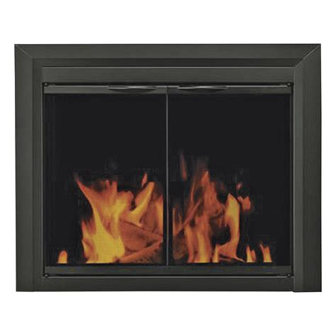 Pleasant Hearth Carlisle Fireplace Glass Door For