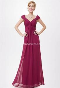 robe longue fluide et decollete en mousseline With robe fluide pour mariage