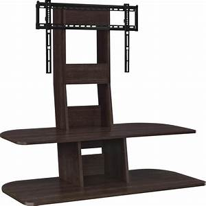 Ameriwood Park 70 In Espresso TV Stand With Mount And