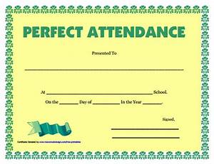 Perfect Attendance Certificate Template Search Results For Perfect Attendance Award Certificates Calendar 2015