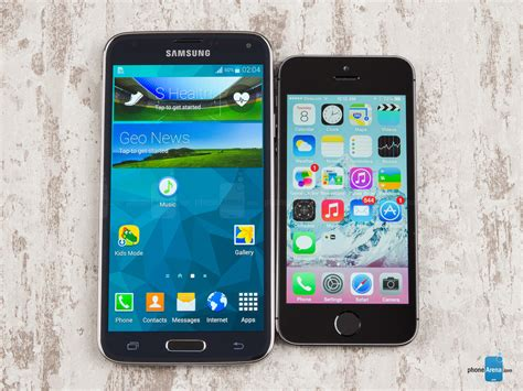 galaxy s5 vs iphone 5s samsung galaxy s5 vs apple iphone 5s call quality