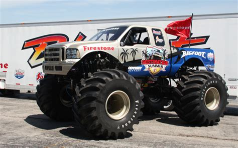 all bigfoot monster trucks 2010 bigfoot front view photo 3