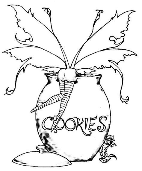 Gothic Fairy Coloring Pages Gothic fairy Fairy