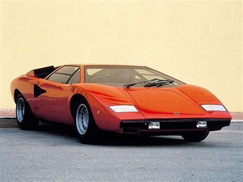 1974→1978 Lamborghini Countach Lp400 'periscopo