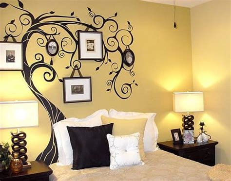 wall paint designs for bedroom design decoration