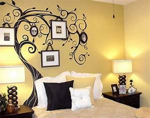 wall paint designs for bedroom - Design Decoration