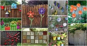 14 DIY IDEAS: Fun Backyard Fence Decorations You Will Love
