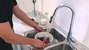 Rubinetto Miscelatore Lavello Cucina Con Doccia Estraibile Kp24159999 Hudson Reed