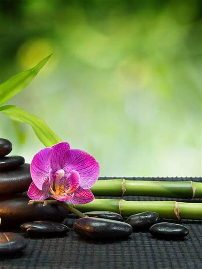 Relaxing Feng Shui Wallpapers Meditation Blury Stone