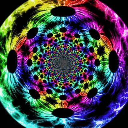 Flower Animated Rainbow Gifs Deviantart Giphy