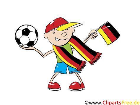 fussball europameisterschaft clipart bild deutschland fan