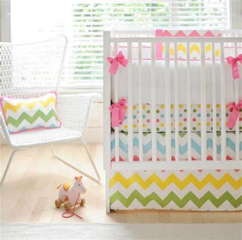 Baby Crib Bedding Chevron by Chevron Crib Bedding Roundup Project Nursery