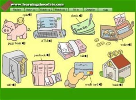 money vocabulary cerca amb google  images